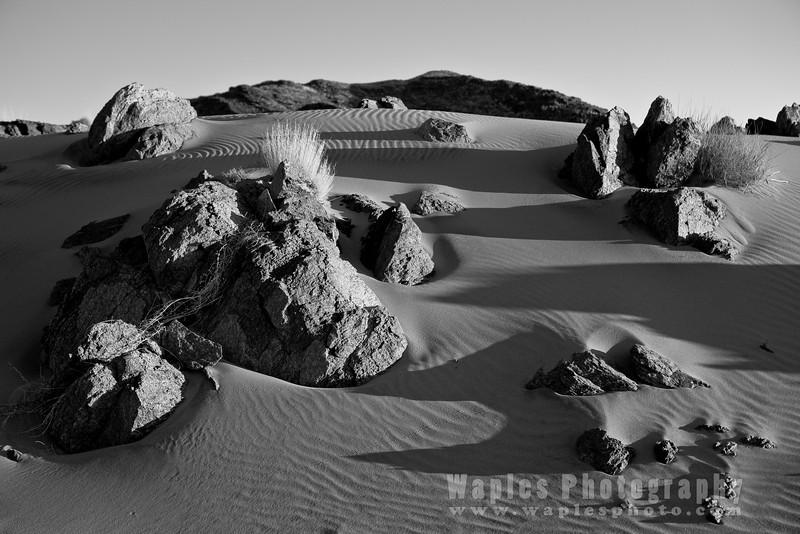 Sand in B&W