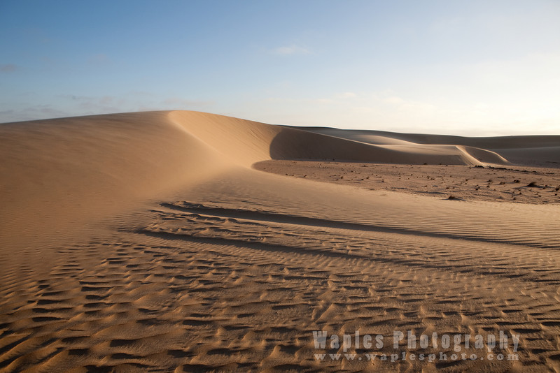 Crescent Dunes at Sunset