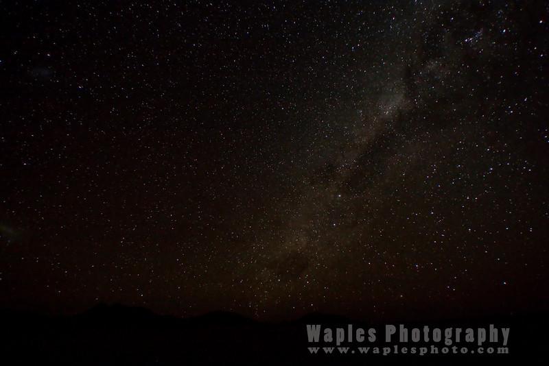 African Night Sky - Milky Way Galaxy