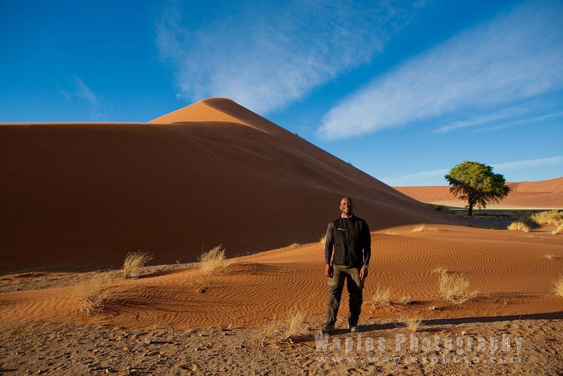 Standing among the Amazing Dunes