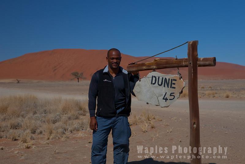 Stephen at Dune 45