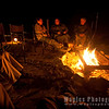 Campfire at back at Skeleton Coast Camp