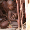 Himba Child with Elder