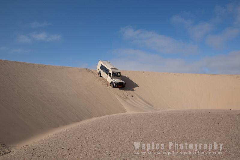Traversing Crescent Dunes!