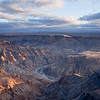Fish River Canyon - Sunset