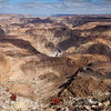 Fish River Canyon - rolling canyon