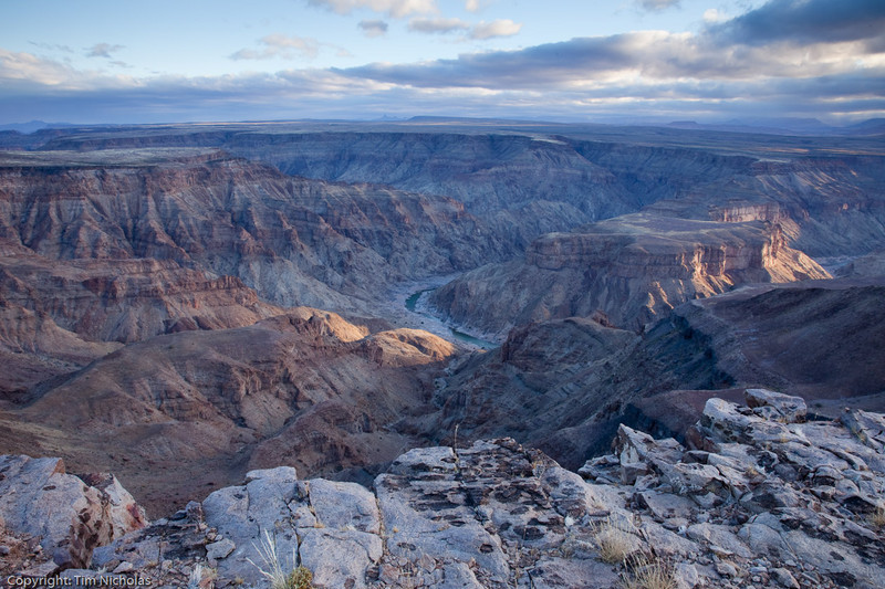 Fish River Canyon - Setting Sun