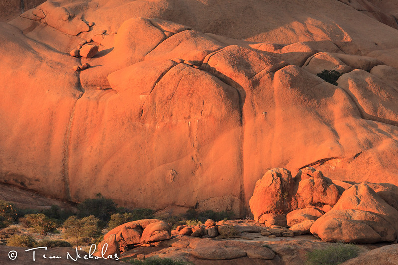 Spitzkoppe  Rocks late afternoon