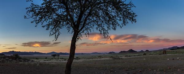 NamibRand pre dawn, Namibia
