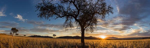 NamibRand sunset, Namibia