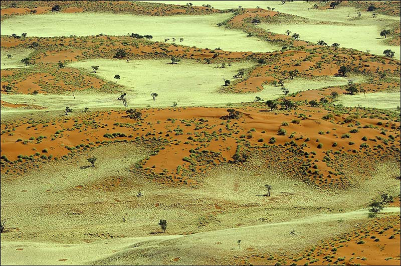 Namibia from above