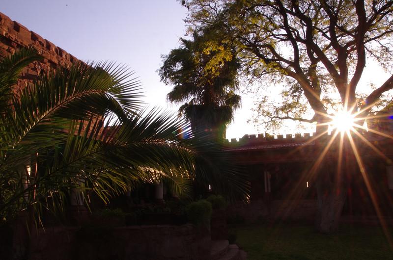 Duwisib Castle - The garden
