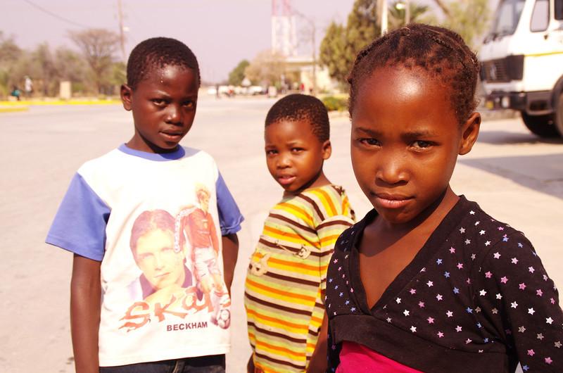 Kids in northern Namibia (Grootfontein)