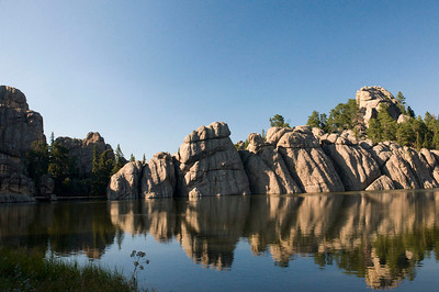 Sylvan Lake at Custer State Park, South Dakota