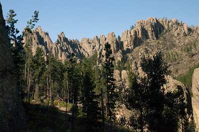 'The Cathedrals' in Custer State Park, South Dakota