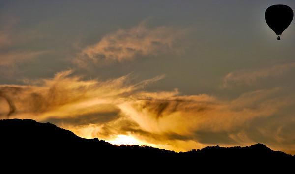 Dawn Balloon at Atlas Peak