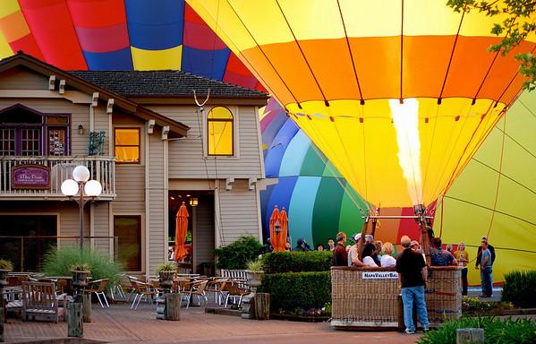 Three Balloon Launch