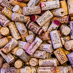 Assortment of Wine Corks from Various wines and wineries