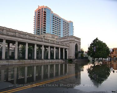The basement of the three year-old Schermerhorn Symphony Center was flooded - destroying two concert grands, a pipe organ console, and mechanical and electrical damage to the tune of forty million. Reopening of this cultural, acoustic gem is projected for January 2011.
