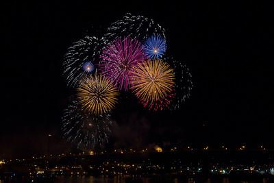 Natal Day Fireworks 2011