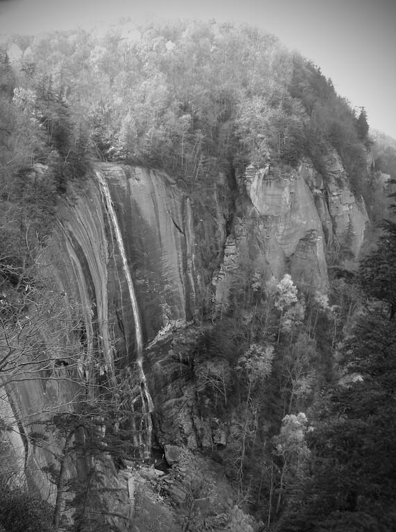 Hickory Nut Falls, Chimney Rock State Park, NC.