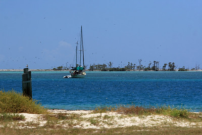 Imagine the life on board that sailboat!  Traveling the worlds exotic locals.