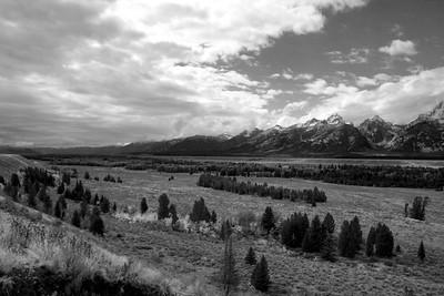Snake River valley with Teton Range in background, Grand Teton NP