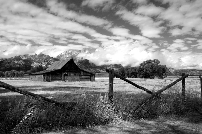 Mormon row barn, Grand Teton NP