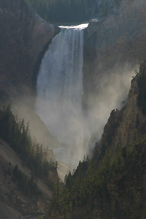 Lower Falls, Grand Canyon of the Yellowstone River