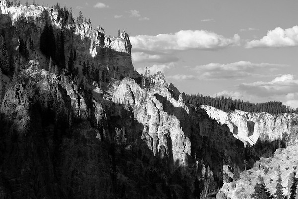 Grand Canyon of the Yellowstone, Yellowstone NP.