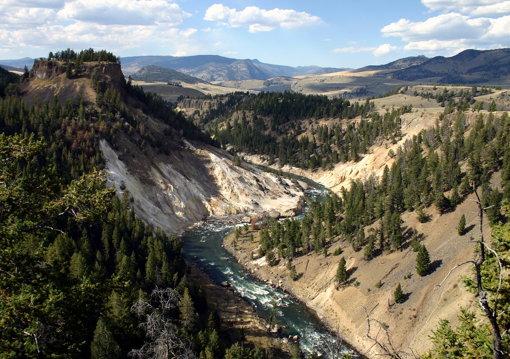 Grand Canyon of the Yellowstone River, Yellowstone NP