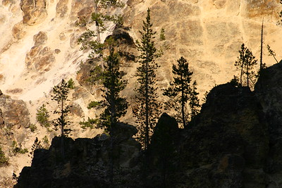 yellow stone, the namesake of the park, Grand Canyon of the Yellowstone, Yellowstone NP