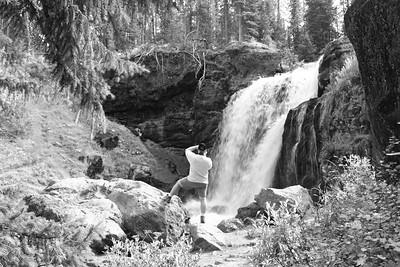 Moose Falls, Yellowstone NP