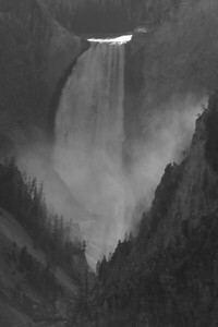 Lower Falls, Artist Point, Grand Canyon of the Yellowstone, Yellowstone NP