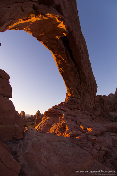 Glowing arch 1