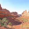 Park Avenue.  Arches National Park