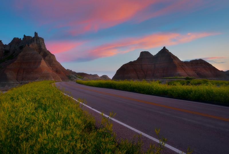 The Road Through The Gates - Badlands National Park, South Dakota