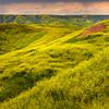 Rollercoaster Of Valleys - Badlands National Park, South Dakota