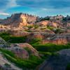 Fortress On The Hill - Badlands National Park, South Dakota