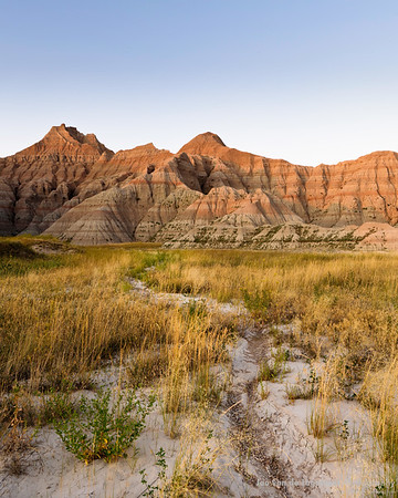 Badlands rivers