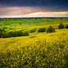Sun Descending Over The Sweet Clover Valley - Badlands National Park, South Dakota