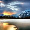 Vermillion Lakes at sunrise