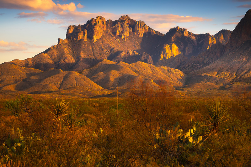 Last Light On The Back Side Of The Window - Big Bend National Park, Texas