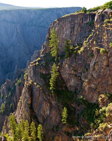 Black Canyon Wall