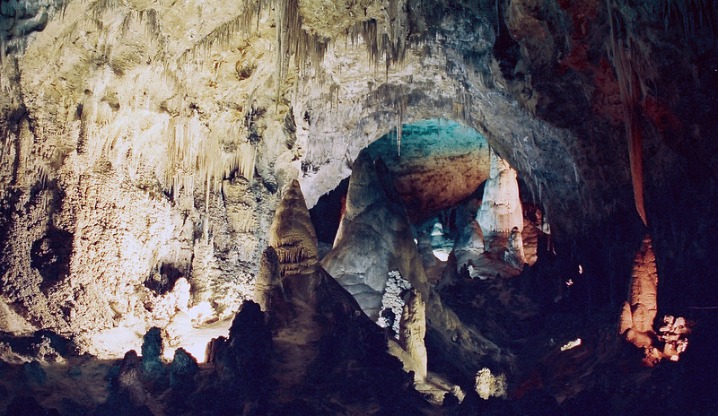 Carlsbad Caverns, old entrance