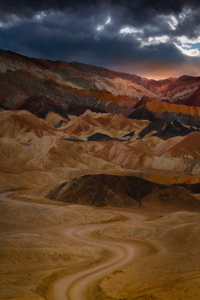 The Road To The Mosiac - Death Valley National Park, Eastern Sierras, California