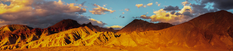 Death Valley Mountain Peak Sunset_Pan - Death Valley National Park, Eastern Sierras, California