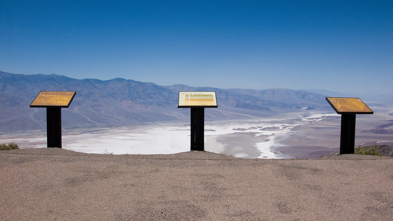 Dantes View overlook Death Valley National Park