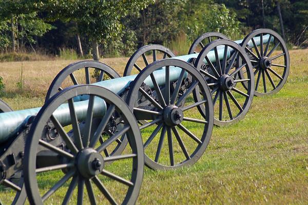 Fredricksburg and Chancellorsville National Military Parks