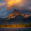 Morning Light Skipping Across The Water - Swiftcurrent Lake, Many Glacier, Glacier National Park, Montana